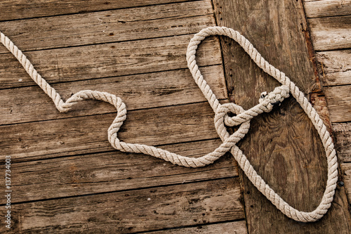 Valokuva  Dock and Rope