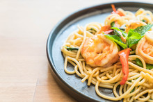 Stir-fried Spicy Spaghetti Wit...