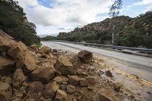 Los Angeles Rock Slide