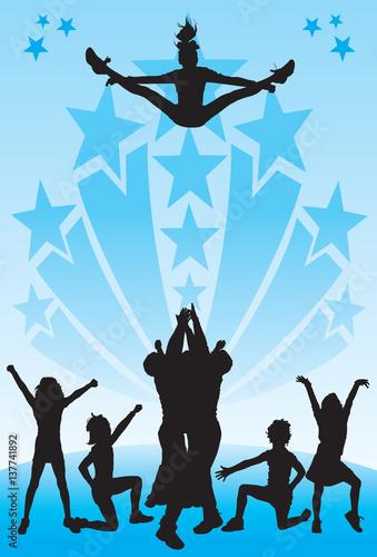Fotomural  Cheerleading