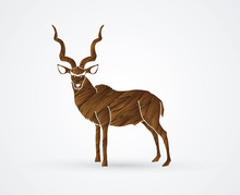 Kudu Standing Designed Using B...