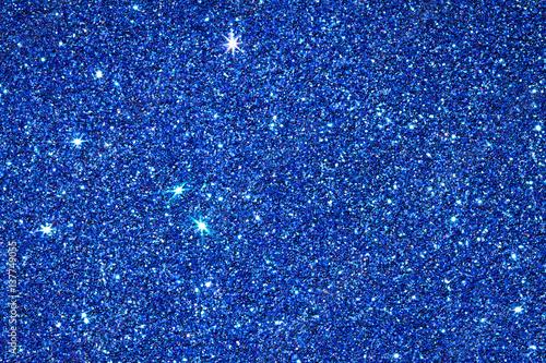 blue glitter texture surface background