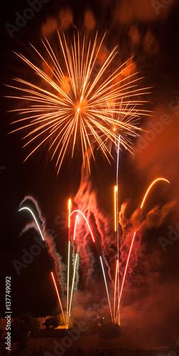 Fotografia  fireworks in barcelona