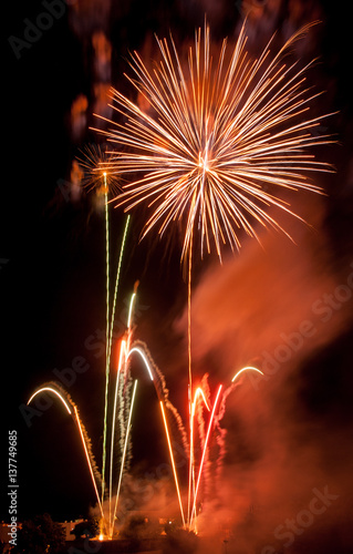 Tela  fireworks in barcelona
