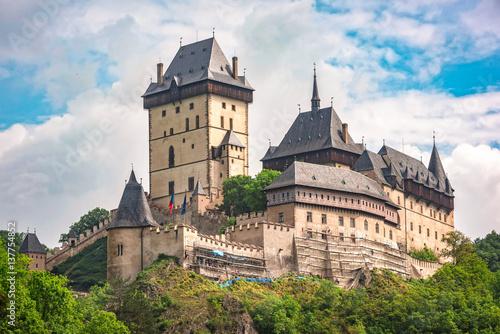 Foto op Plexiglas Kasteel Karlstein Castle