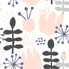 Tapeta Abstract Floral Pattern