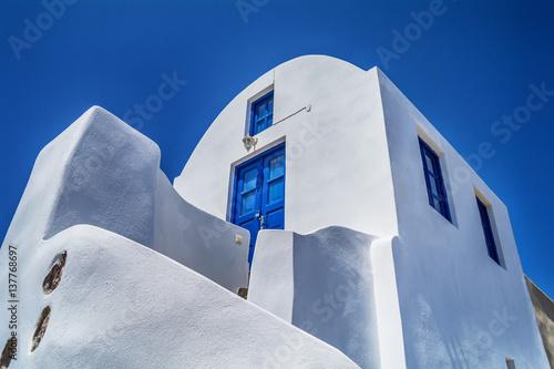 Fototapety, obrazy: Traditional architecture of Santorini island, Greece