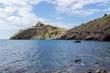 Beautiful seascape. South coast of Crimea, Novy Svet, near Kapchik cape