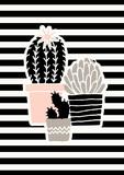 Cute Cacti Poster Design - 137773053