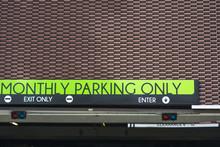 Public Parking Entrance In Los Angeles