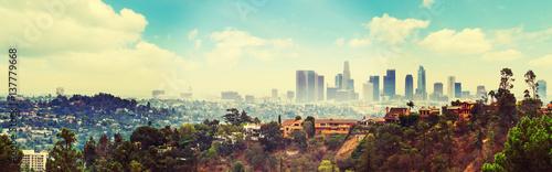 Blue sky in LA