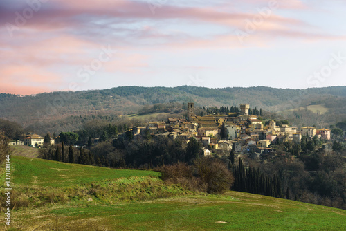 Hidden somewhere out of town in tuscany san casciano dei bagni