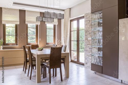 Fotografie, Obraz  Elegant dining room design