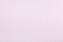 Pastel Pink Polka Dot Fabric B...