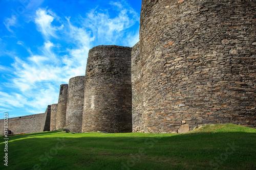 Roman wall of Lugo. Spain