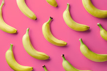 Colorful Pattern Of Bananas