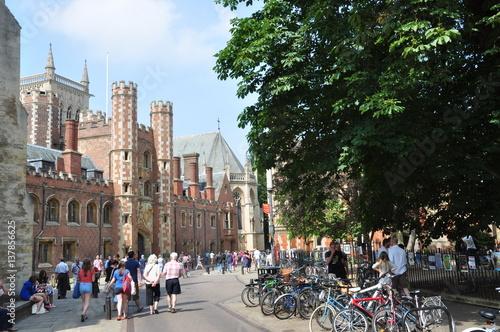 Stampa su Tela Calle de Cambridge