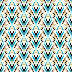 Fototapeta Art deco pattern