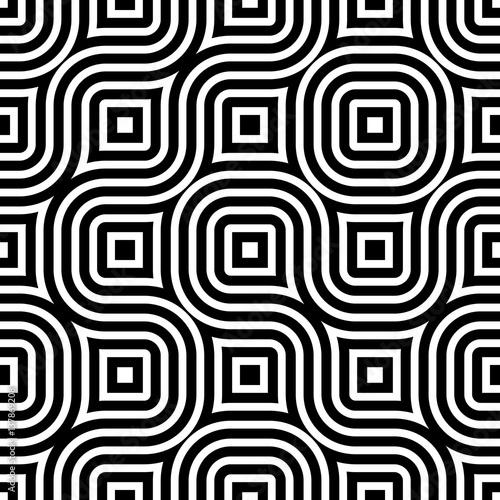 bezszwowy-geometryczny-czarny-i-bialy-wzor-dla-tkaniny