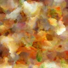 Obraz Oil paints smear texture