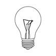 figure bulb icon image, vector illustration design stock