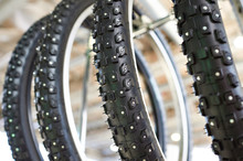 Bicycle Winter Tire An Assortm...