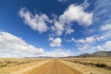 Dirt Road In The Nevada Desert...