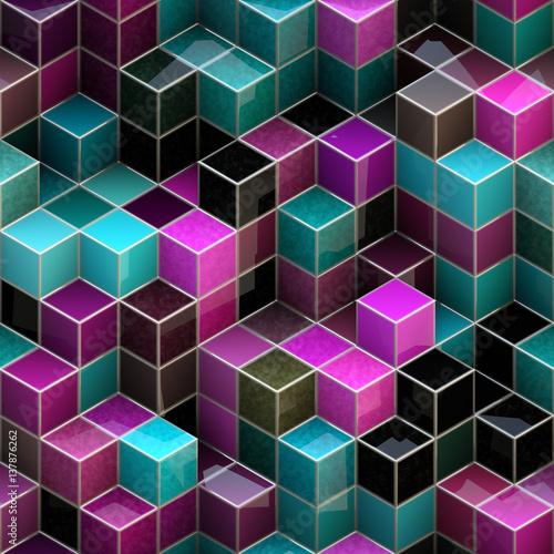 bezszwowy-3d-kubiczny-abstrakcjonistyczny-wzor