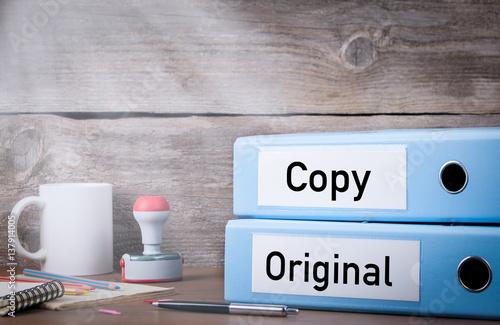 Carta da parati Original and Copy