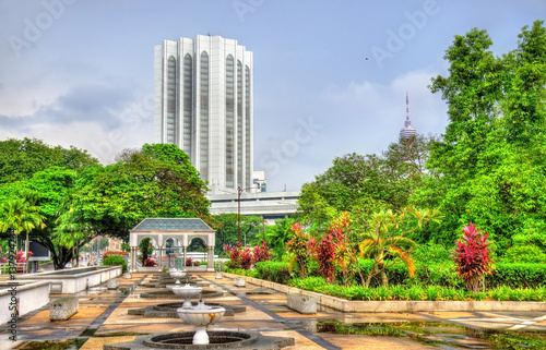 Plagát  View from National Mosque of Malaysia in Kuala Lumpur