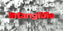 Intangible -  Red Text On Typo...