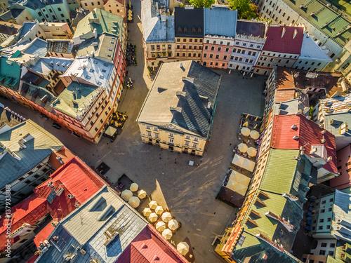 lublin-stare-miasto-trybunal-koronny-z-lotu-ptaka