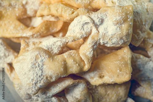 Fotografie, Obraz  Traditional faworki cookies