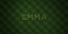 EMMA - Fresh Grass Letters Wit...