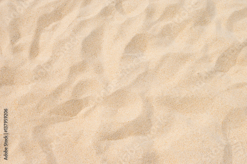 Photo Fine beach sand in the summer sun