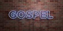 GOSPEL - Fluorescent Neon Tube...