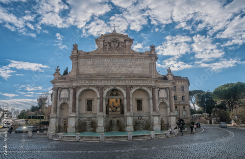 Fontana dell' Acqua Paola, Rome Tablou Canvas