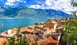 Limone - beautiful small town in pictorial Lago di Garda. Italy