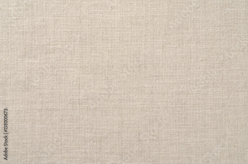 Deurstickers Stof Background of natural linen fabric