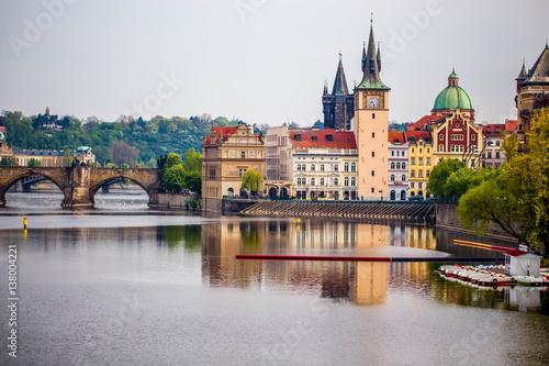Valokuva Charles bridge on Vtlava river in Prague
