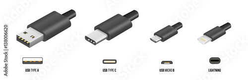 Fotografía  USB type C