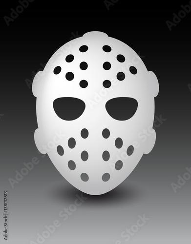 Maschera Da Hockey O Di Paura Per Halloween Buy This Stock Vector