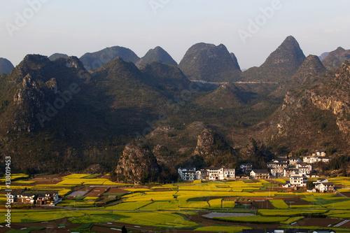 Foto auf Gartenposter Reisfelder 兴义万峰林