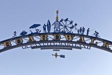 Ocean City , Maryland Boardwalk Entryway SIgn