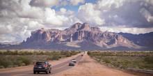 Arizona Desert Road Leading To...