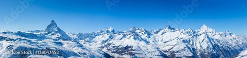 Photo  Swiss Mountains Panorama