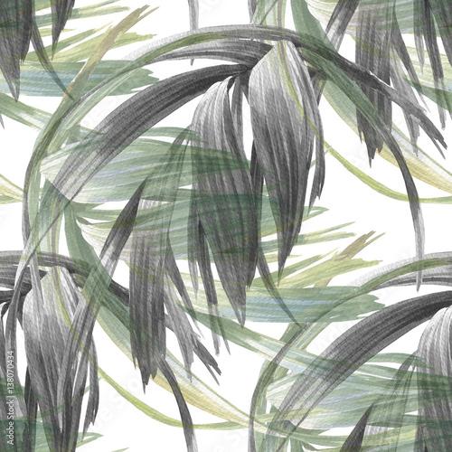 akwareli-ilustracja-lisc-bezszwowy-wzor-na-bialym-tle