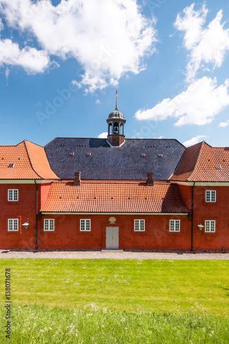 Photo  part of church and prison in Kastellet, Copenhagen