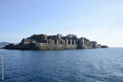 Photo  Battleship island, Japan