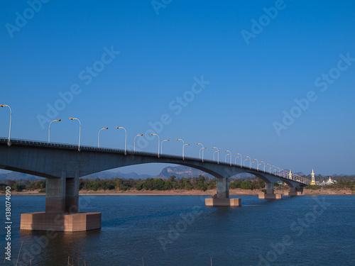 Poster Artistiek mon. Third Thai–Lao Friendship Bridge.